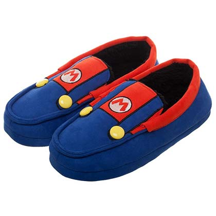 Super MARIO Bros. Suit Up Shoes Unisex Moccasins Slippers