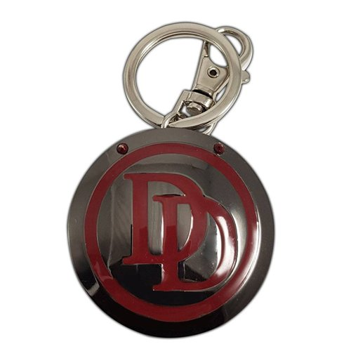 Marvel Comics Metal Keychain Daredevil Logo