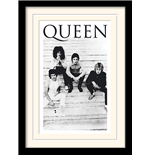 Queen Framed Print - Brazil 81 - 30X40 Cm