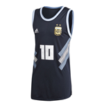 2018-2019 Argentina Adidas Seasonal Special Tank Top (Navy)