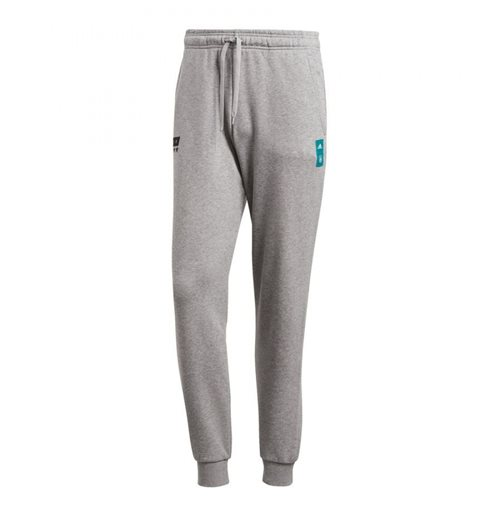 2018-2019 Germany Adidas Graphic Sweat Pants (Core Heather)
