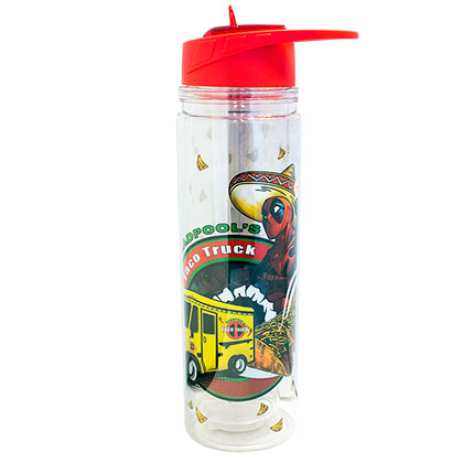 DEADPOOL Taco Truck 550ml BPA-Free Water Bottle