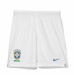 2018-2019 Brazil Nike Away Shorts (White) - Kids