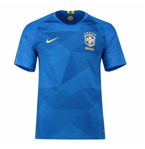 2018-2019 Brazil Away Nike Football Shirt