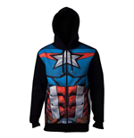 Avengers Hooded Sweater Captain America