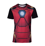 Marvel Sublimation T-Shirt Iron Man