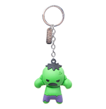 Marvel 3D Rubber Keychain The Hulk Character 7 cm