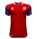 2018-2019 Iceland Third Errea Football Shirt