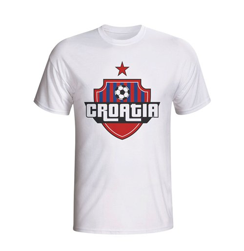 Croatia Country Logo T-shirt (white) - Kids