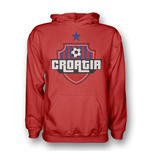 Croatia Country Logo Hoody (red) - Kids