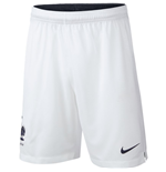 2018-2019 France Nike Home Shorts (White) - Kids