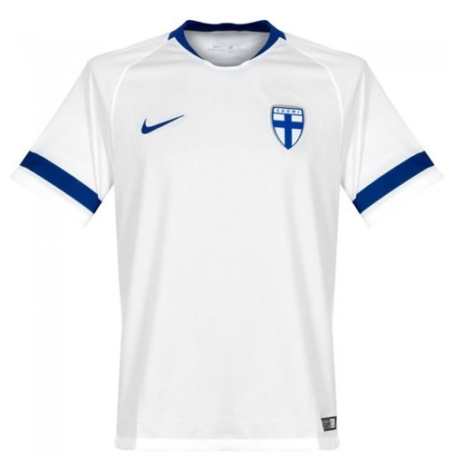 2018-2019 Finland Home Nike Football Shirt
