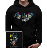 Batman - Gotham Face - Unisex Hooded Sweatshirt Black