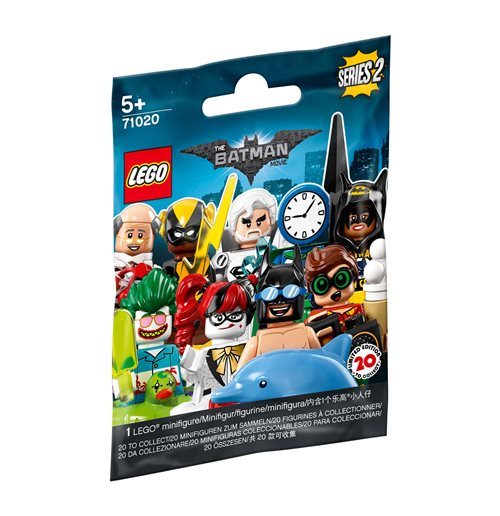 Lego 71020 - Batman Movie - Minifigures 2018