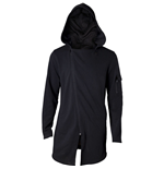 ASSASSIN'S CREED Origin Men's Eye of Horus Full Length Zipper Fishtail Hoodie, Medium, Black