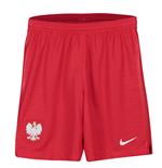 2018-2019 Poland Nike Away Shorts (Red) - Kids
