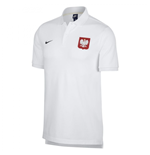 2018-2019 Poland Nike Core Pique Polo Shirt (White)