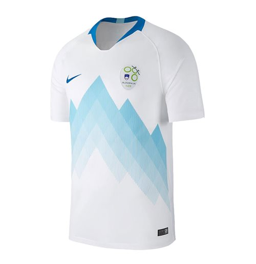 2018-2019 Slovenia Home Nike Football Shirt