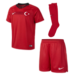 2018-2019 Turkey Home Nike Little Boys Mini Kit