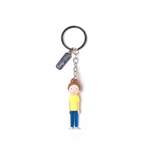 Rick and Morty 3D Rubber Keychain Morty