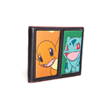 POKEMON Starting Characters Bi-Fold Wallet, One Size, Multi-colour