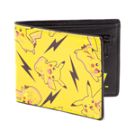 POKEMON All-over Pikachu Bi-Fold Wallet, One Size, Multi-colour