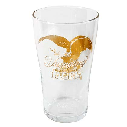 YUENGLING Traditional Beer Tumbler Pint Glass