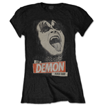 KISS Ladies Tee: The Demon Rock