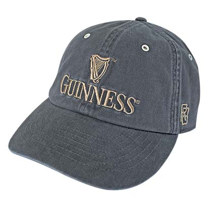 GUINNESS Retro Brand Men's Grey Hat