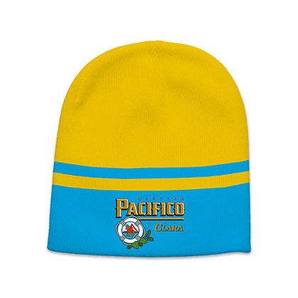 PACIFICO Beer Logo Two Tone Winter Beanie Hat