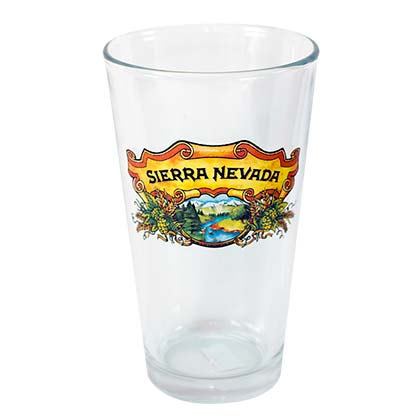 SIERRA NEVADA Traditional Beer Drinking Pint Glass