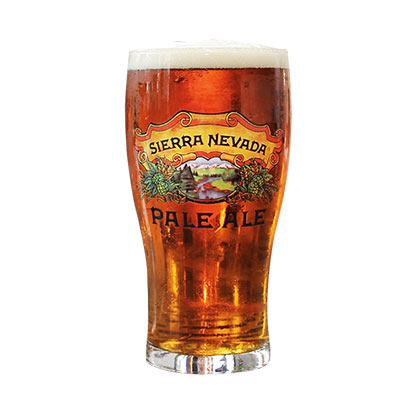 SIERRA NEVADA Pale Ale 16oz Tulip Beer Pint Glass