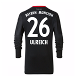 2017-18 Bayern Munich Home Goalkeeper Shirt - Kids (Ulreich 26)