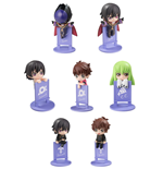 Code Geass: Lelouch of the Rebellion Ochatomo Series Trading Figure 5 cm On The Glass Assortment (8)
