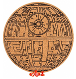Star Wars Cork Board Death Star