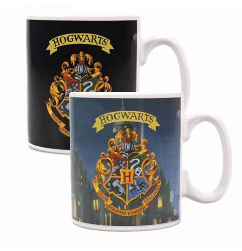 Harry Potter Heat Change Mug Hogwarts Crest