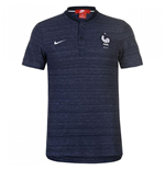 2018-2019 France Nike Authentic Franchise Grand Slam Polo Shirt (Obsidian)