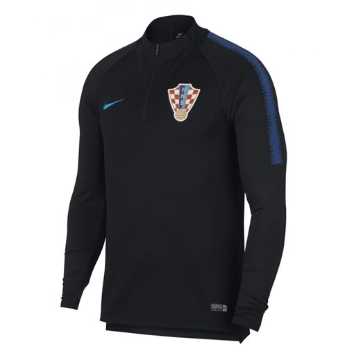 2018-2019 Croatia Nike Training Drill Top (Black)