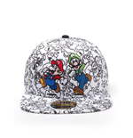 Super Mario - Mario&Luigi Screen Print 2D Embroidery Snapback