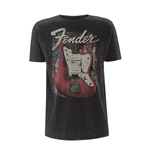 Fender T-shirt Distressed Guitar