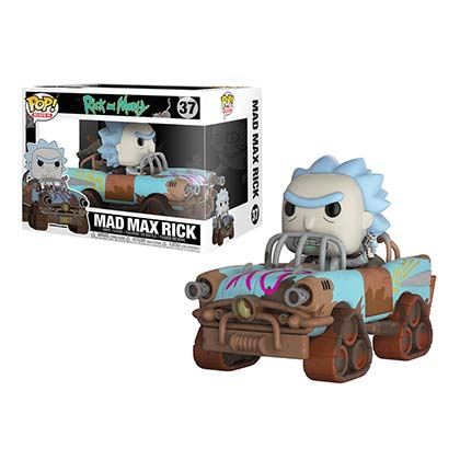 Rick And Morty Mad Max Premium Rick Funko Pop Figure Toy