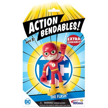 The FLASH Action Bendables Figure Flexible Toy