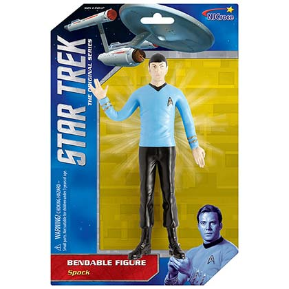 STAR TREK Spock Bendable Action Figure Posing Toy