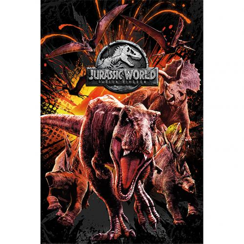 Jurassic World Fallen Kingdom Poster Montage 241