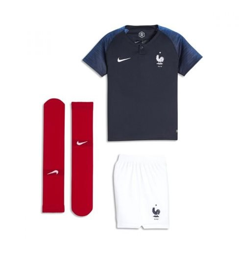 2018-2019 France Home Nike Mini Kit