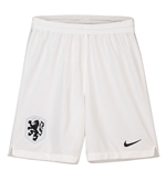 2018-2019 Holland Nike Home Shorts (White) - Kids