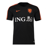 2018-2019 Holland Nike Training Shirt (Black) - Kids