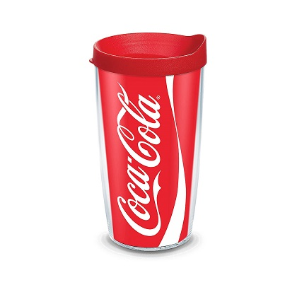 Tervis Coca Cola 16 Ounce Tumbler With Lid