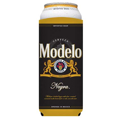 Modelo Negra Large 24oz Black Can Cooler