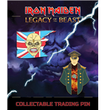 Iron Maiden Legacy of the Beast 2-pack Pin Badge Trooper Eddie & General